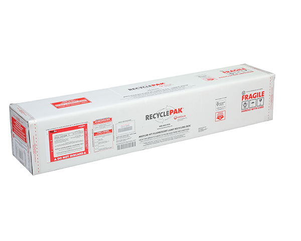 SUPPLY-043- MEDIUM 4FT FLUORESCENT LAMP RECYCLING BOX